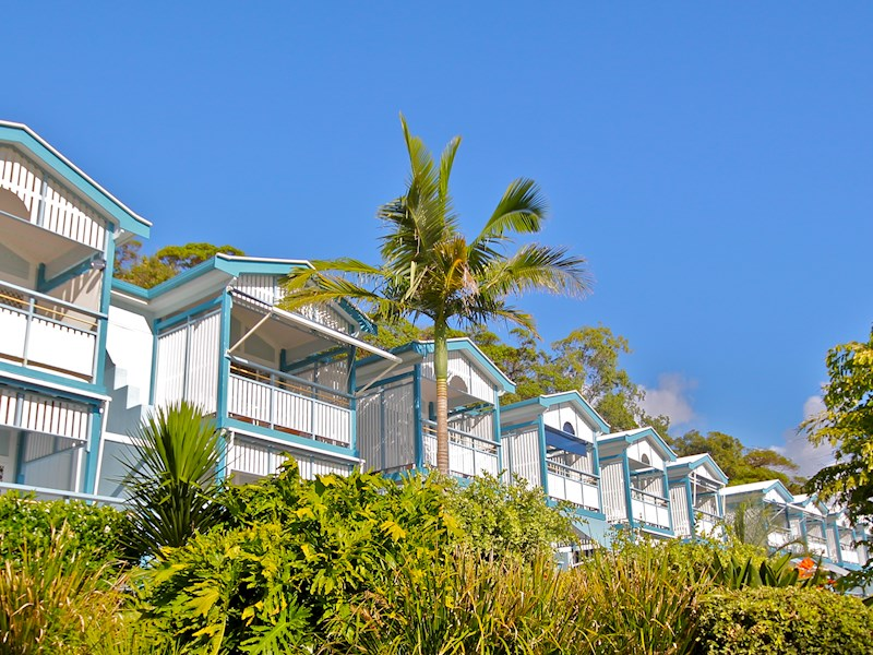 Standard Beachfront Villas Tangalooma Resort Accommodation