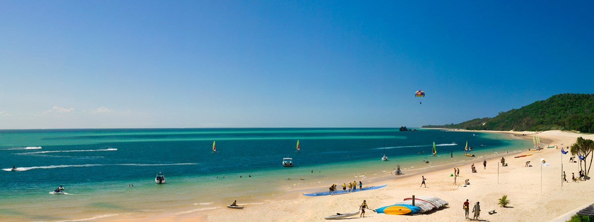 Tangalooma Island Resort beach