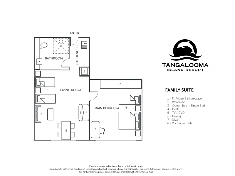 Family Suites Tangalooma Island Resort Accommodation