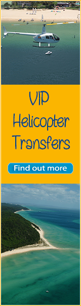 Tangalooma Helicopter transfers