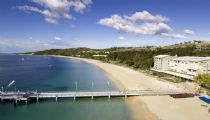 tangalooma is located on moreton island a short boat ride from brisbane