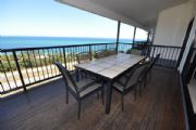 Deck with views across Moreton Bay