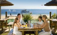 The Beach Cafe has great lunch options, including pizzas, burgers, salads and light meals. Or, pack your own lunch!