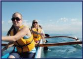 Outrigger canoe races are fun and challenging!