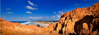 Coloured Cliffs of Cape Moreton